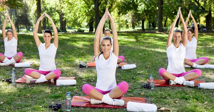 tập yoga thành công