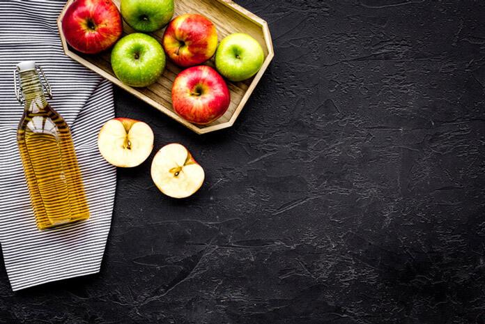 dấm táo giúp giảm mỡ bụng
