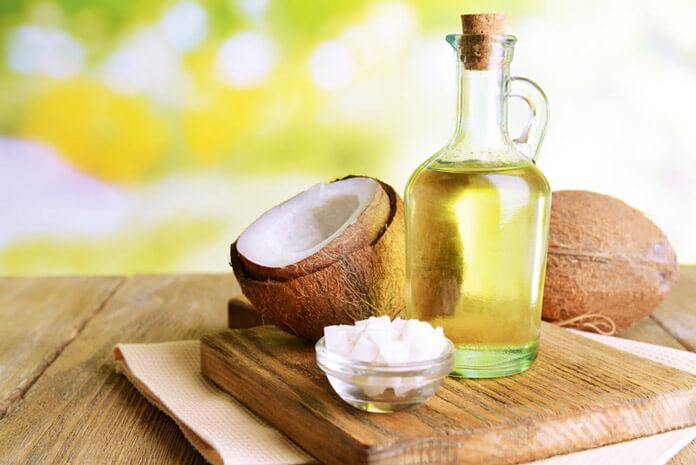 dầu dừa giúp giảm mỡ bụng