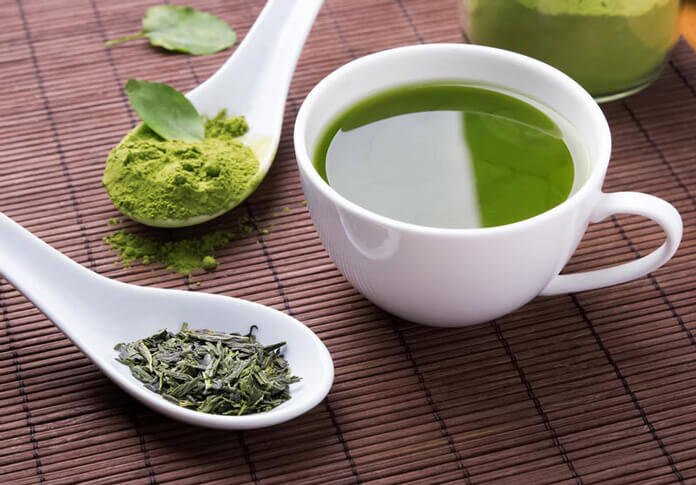 trà xanh giúp giảm cân hiệu quả