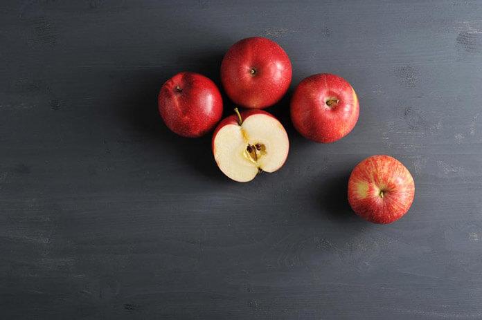 táo - trái cây thanh lọc cơ thể