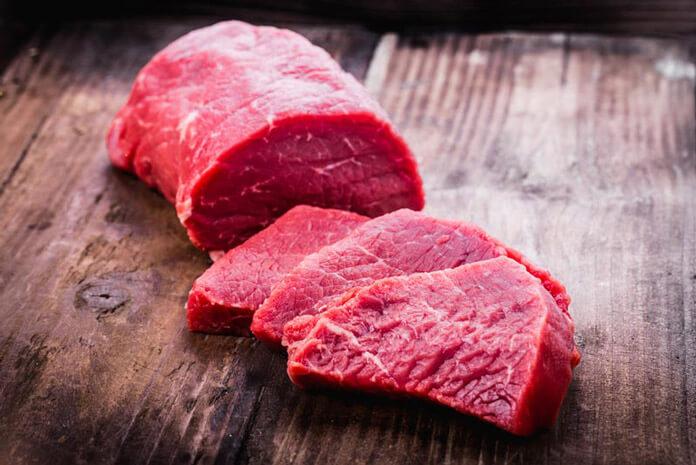Thịt bò giúp tăng chiều cao