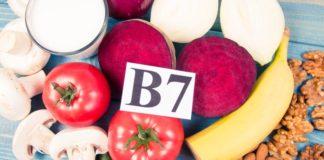 Vitamin B7 có trong thực phẩm nào