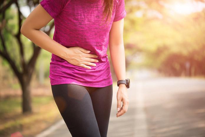bị xóc hông khi chạy bộ