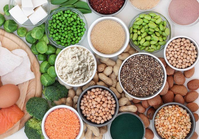 giảm mỡ bụng bằng cách bổ sung protein